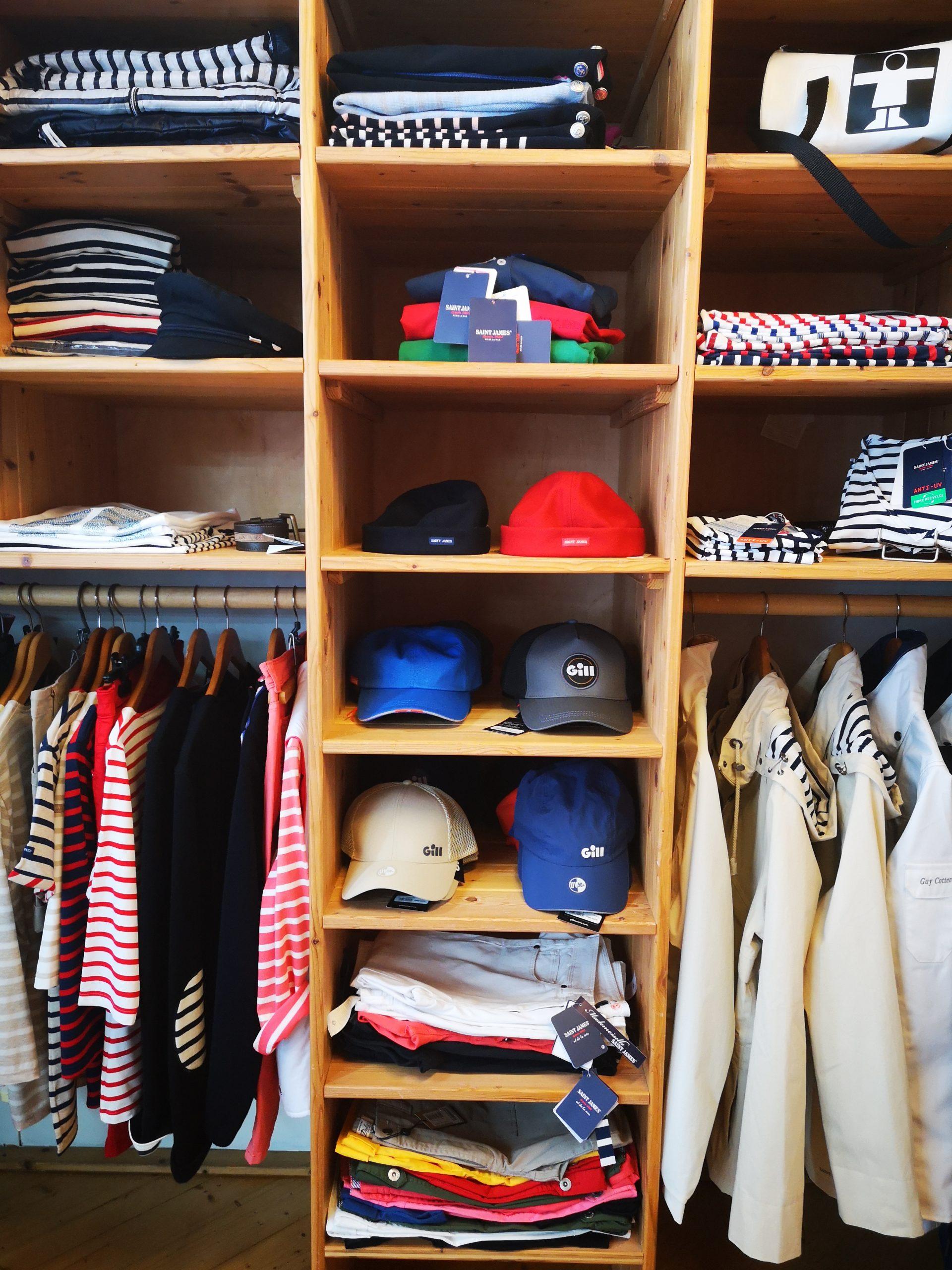 Vêtements marins