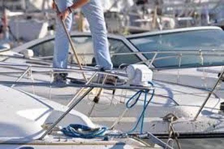 Nettoyage bateau